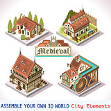 Medieval 02 Tiles Isometric