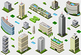 Megalopolis 01 Building Isometric