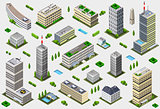 Megalopolis 02 Building Isometric
