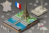 Paris 01 Building Isometric