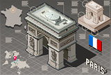 Paris 04 Building Isometric