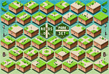 Park Furniture 02 Urban Isometric