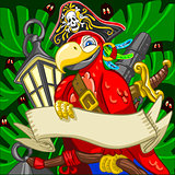 Pirate Parrot Concept Fantasy