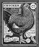 Poultry 02 Vintage Blackboard