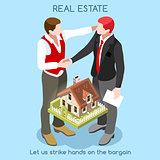 Real Estate 01 People Isometric