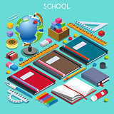 School Set 07 People Isometric