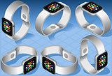 Smart Watch 01 Object Isometric