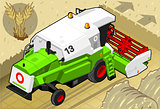 Thresher 02 Vehicle Isometric