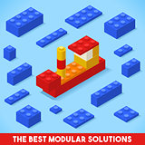 Toy Block Ship Games Isometric