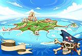 Treasure Island Landscape Fantasy