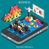 Webinars 02 Business Isometric