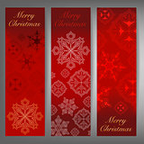 Merry Christmas and winter theme web banners