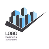 Logo business building