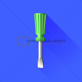 Green Screwdriver