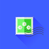Flower Stamp Icon