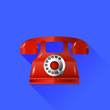Vector Red Phone