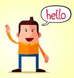 friendly greeting