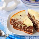 Pieces of Zebra Cake
