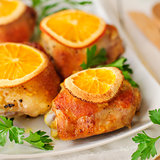 Roast Chicken with Oranges