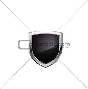 Black steel shield