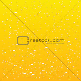 background glass of beer with drops of drink