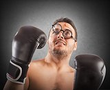 Goofy boxer