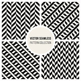 Vector Seamless Geometric Pattern Collection
