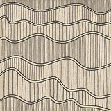 Sketch Wave Abstract Background.