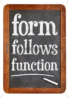 form follows function design principle