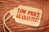 low price guarantee on paper tag