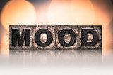 Mood Concept Vintage Letterpress Type