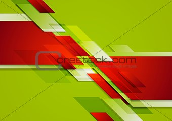 Abstract colorful corporate tech background