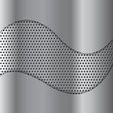 Abstract perforated metal texture