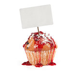 CupCake with price tag