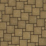 Sand Color Pavement of Square Shape.