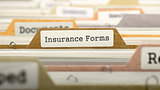 Insurance Forms on Business Folder in Catalog.