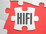 HIFI - Puzzle on the Place of Missing Pieces.