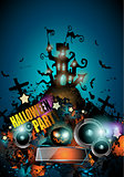 Halloween Night Event Flyer Party template