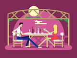 Romantic date design