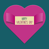 Valentines Day background or greeting card