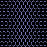Seamless hexagons texture.
