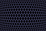 Hexagons  pattern. Geometric texture.