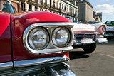 Classic fifties automobile, Cuba