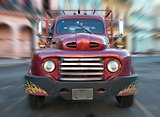 Fifties vintage US pickup truck