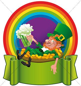 A_Leprechaun_in_the rainbow