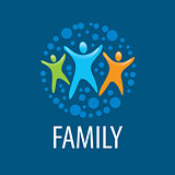 vector logo family