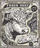 Advertising Beef 01 Vintage 2D
