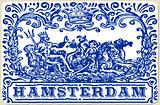 Amsterdam Azulejos 01 Vintage 2D