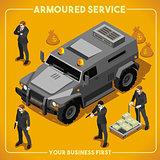 Armoured 02 Vehicle Isometric