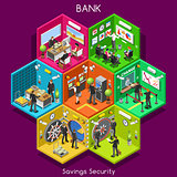 Bank 01 Cells Isometric
